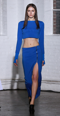 "KYE's 2014 Fall/Winter collection was held at the New York Fashion Week at Industria Superstudio in New York in February. Kye's standalone show, themed ""identity,"" has received rave reviews from local media."