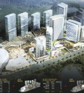 This view shows LOCZ Korea's casino resort to be completed by 2023 in Yeongjondo, home to Incheon International Airport. (Yonhap)