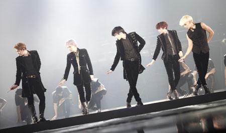K-pop boy band SHINee (Korea Times file)