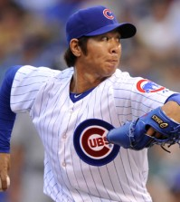 Chicago Cubs released pitcher Lim Chang-yong on Monday. Samsung Lions, Lim's former team in Korea Baseball Organization, said it is considering adding him. (AP)