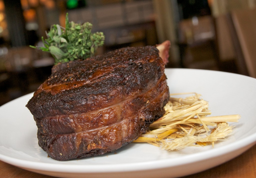 Bourbon Steak's Dry-Aged-Cote-de-Boeuf.