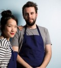Top Chef alum Beverly Kim and her husband John Clark.