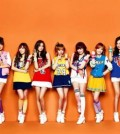 Girl's Generation on a widely-seen billboard.