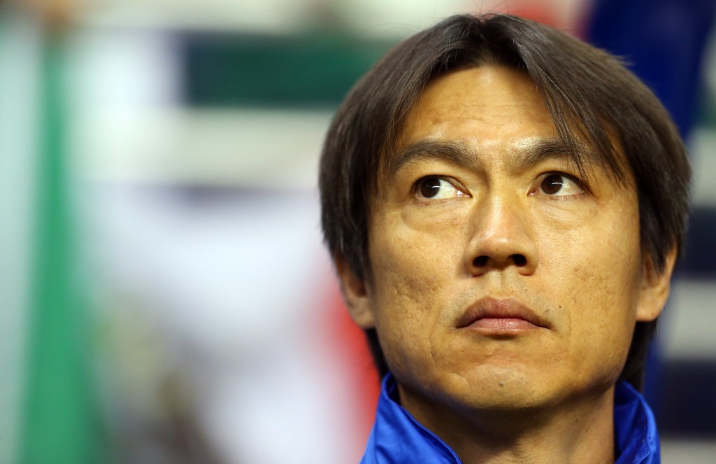 Korean manager Hong Myung-bo has yet to decide on his No. 1 striker. (Yonhap)