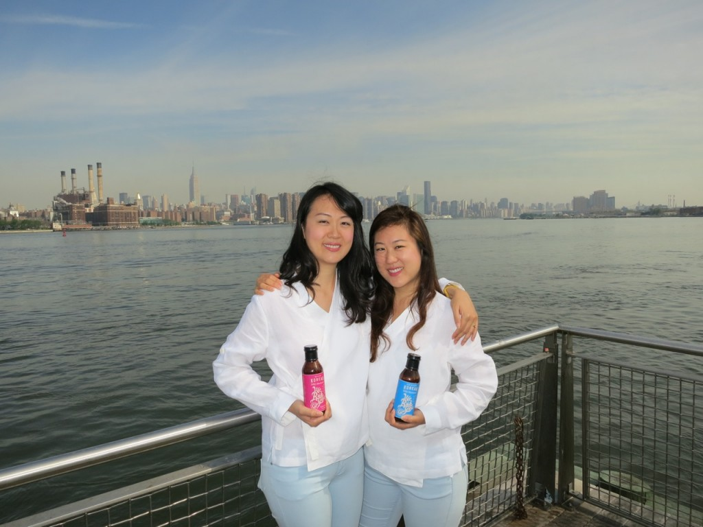 Ann, left, and Janet Chung's Korean BBQ sauce will be available at all northeast region Whole Foods Market by this summer.