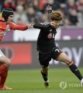 Son Heung-min scored on Wednesday to save his Bundesliga club. (Yonhap)