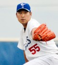 With zero earned runs allowed in five innings Wednesday, Suk-min Yoon has posted a 2.40 ERA over his last three outings. (Christopher McCain/Norfolk Tides)