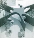 "Yoon's design of the ""Collier Memorial."""