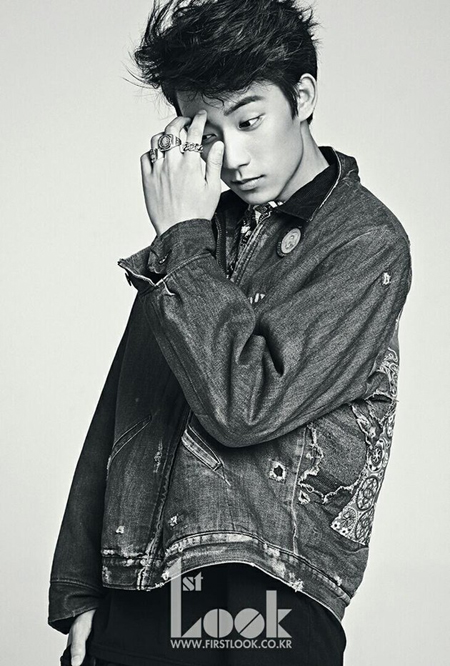 Gong-chan for 1st Look. - 1st Look