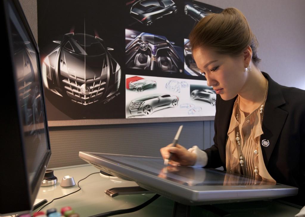 Cadillac goes park avenue the korea times for Car exterior design software download