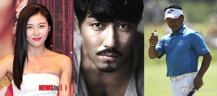Ha Ji-won, Cha Seung-won, K.J. Choi