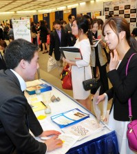 According to Job Korea, the on fair on Thursday will result in about 1,000 jobs for seekers. (Park Sang-hyuk)