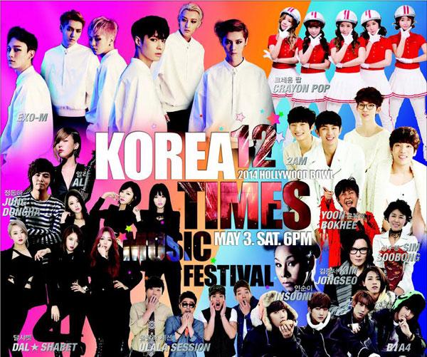 Korea Times Music Festival 2020.The Ultimate Celebration Of Korean Music Arrives May 3 The