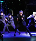 K-Pop boy band EXO-M perform at the 2014 Korea Times Music Festival. (The Korea Times)
