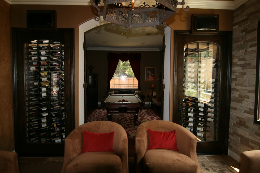 Convert small spaces into a magnificent wine collection Turn closet into wine cellar