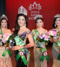 Winners of 2014 Miss Korea (Korea Times)