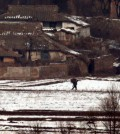 This Yonhap photo of North Korea was taken from south side of the border last winter.