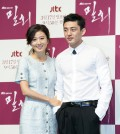 "JTBC's ""Secret Love Affair"" tells the story of romance between a woman in her 40's (played by Kim Hee-ae) and a man in his 20's (Yoo Ah-in). / Newsis"