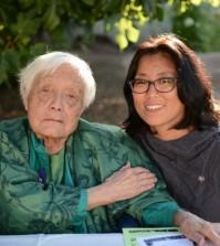 Grace Lee Boggs, left, with Director Grace Lee.