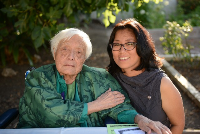 Grace Lee Boggs, left, with Director Grace Lee.