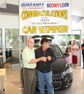 In 2012, Middle College High student Giovanni Amigon was the lucky winner. (Photo-www.sausd.us)