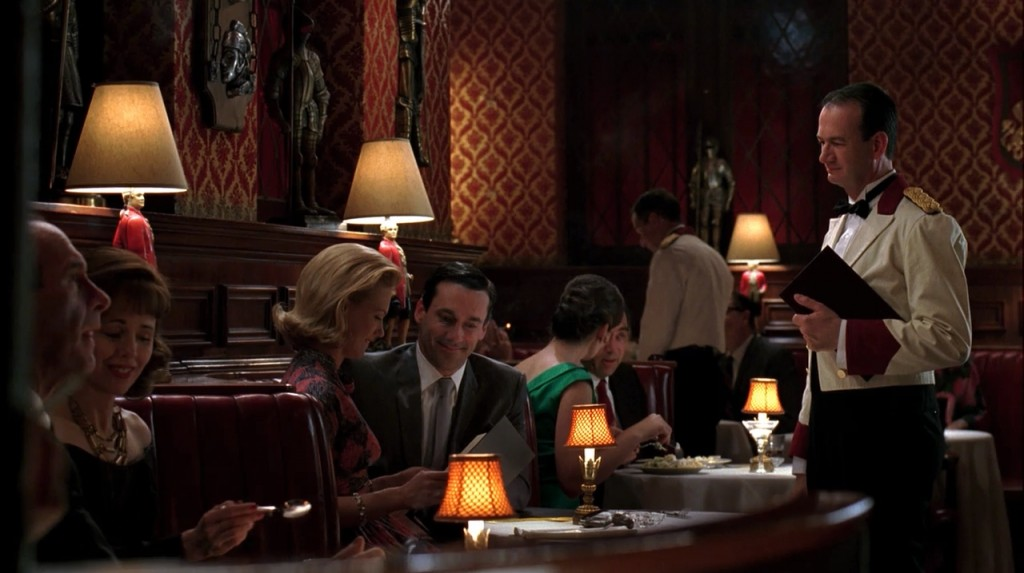 "The Prince, located in Koreatown, is where Jon Hamm's Don Draper wines and dines in ""Mad Men,"" top, and where Jake Johnson's Nick bartends in ""New Girl,"" bottom. (All photos courtesy of The Prince)"