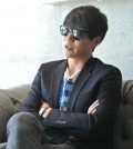 Sung Si-kyung inside a Koreatown hotel in L.A. (Christine Ha / The Korea Times)