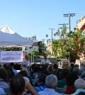 The Wilshire Boulevard Temple held a groundbreaking ceremony Sunday to announce the Karsh Family Social Service Center.