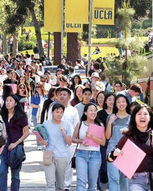 UCLA, asian students
