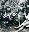 "This picture of ""comfort women"" were reportedly taken by an American Army photographer in 1944. (Yonhap)"