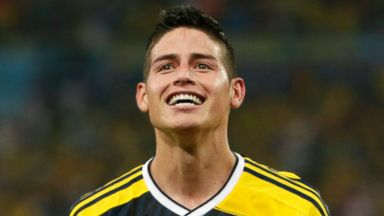 James Rodriguez. (AP)