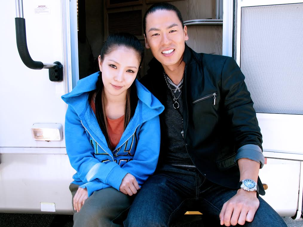 Rich Ting with Korean singer/actress BoA. (Courtesy of Rich Ting)
