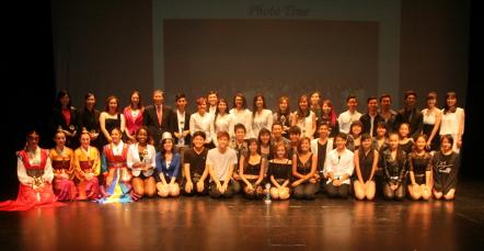 Participants of the 2014 San Francisco K-POP Festival at the Oshman Family Jewish Community Center in Palo Alto.