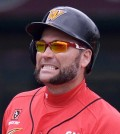 SK Wyverns outfielder Luke Scott was waived Wednesday after an argument with coach Lee Man-soo. (Korea Times file)