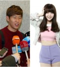 Soccer star Son Heung-min and Girl's Day Min-ah