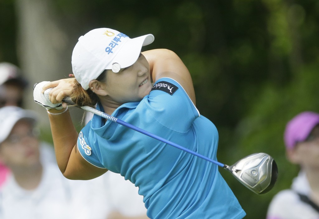 Mirim Lee is among seven South Korean players in the top-10 after the first round at the KEB Hanabank Championship (AP Photo/Carlos Osorio)