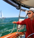 Nam Jin-woo, founder of the Korean American Sailing Club, said he goes out on the water once or twice a week.
