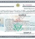 Certificate of citizenship sample.