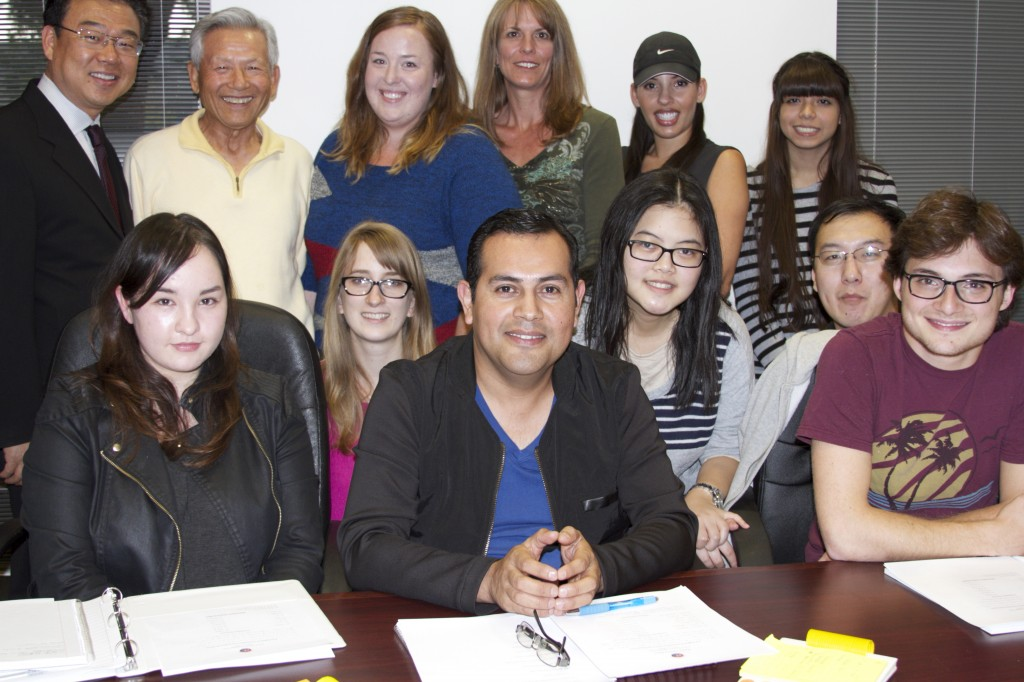 These students are learning Korean at Orange County Korean Cultural Center at Irvine (20 Truman Avenue, Suite 107),
