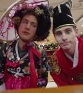 Ollie Kendal, left, and Josh Carrott in an episode filmed in Korea. (YouTube screen capture)