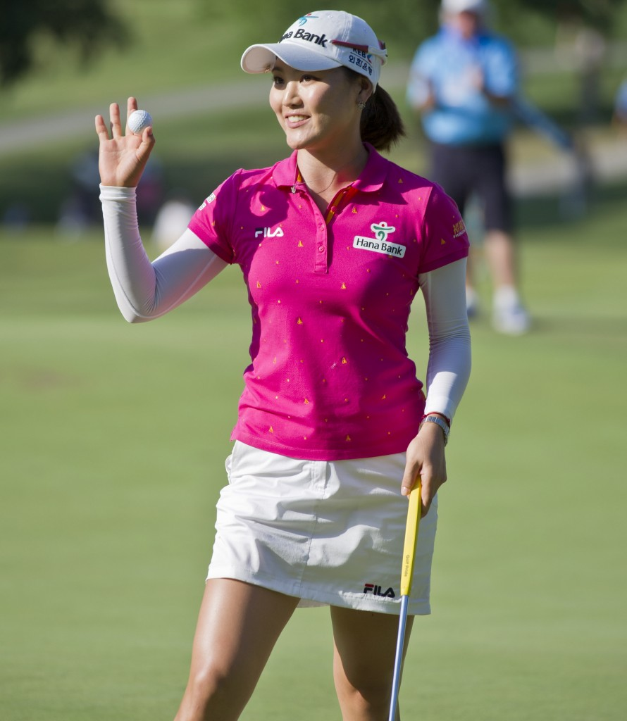 Ryu So-yeon took over Stacy Lewis' first round one stroke lead with a  6-under 65 (AP)