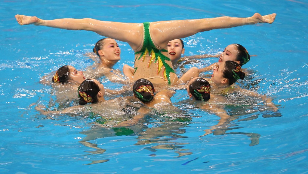 Asian Games, north korea synchronized swimming