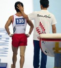 Yang Hak-sun walks away disappointed. (Yonhap)