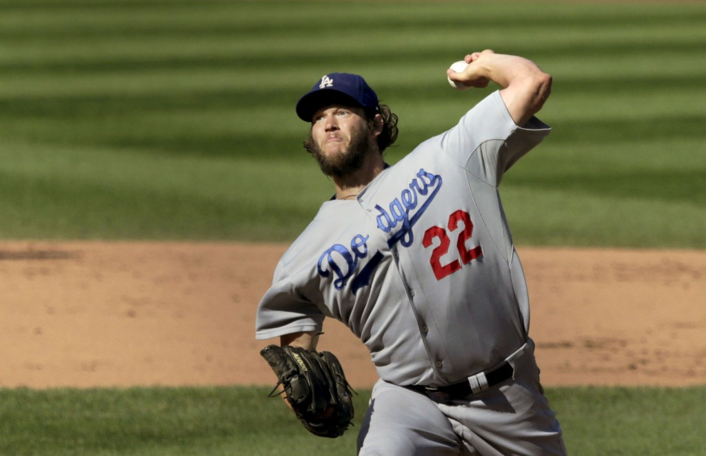 Los Angeles Dodgers starting pitcher, Clayton Kershaw, is currently under a seven year contract for $ million (AP Photo/Charles Rex Arbogast)