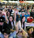 Radio Seoul's Youth Talent Show on Saturday was held inside Seoul International Park. (The Korea Times)