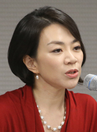 Cho Hyun-ah, daughter of Hanjin Group Chairman Choi Yang-ho and Korean Air Vice President