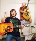 Jack Black, left, is the lead vocalist and guitarist in the group, whose lyrics are often humorous. Kyle Gass, sings and plays lead guitar.