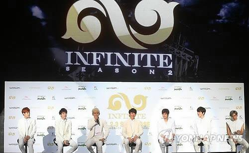 South Korean boy group Infinite (Yonhap)