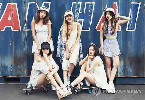 Ladies' Code (Yonhap)