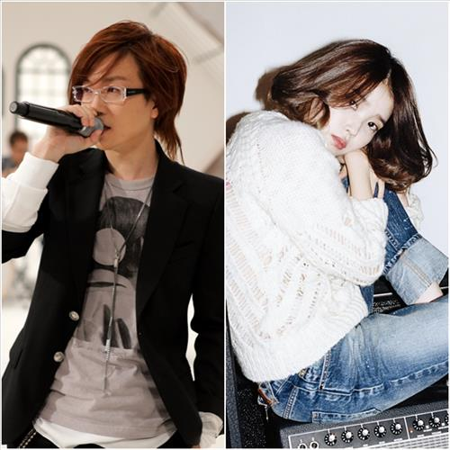 Seo Taiji, left, and IU (Yonhap)